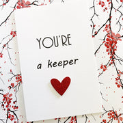 You're a Keeper