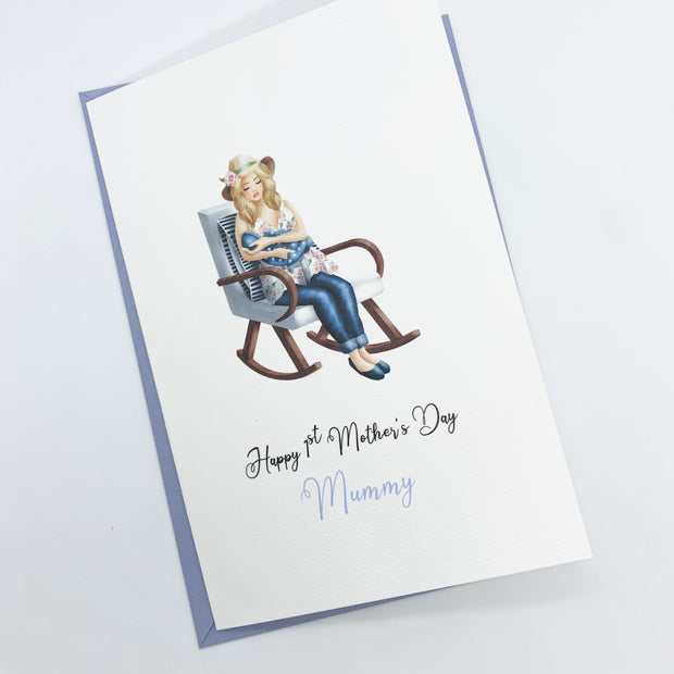 Personalised 1st Mothers Day Card from Baby Son