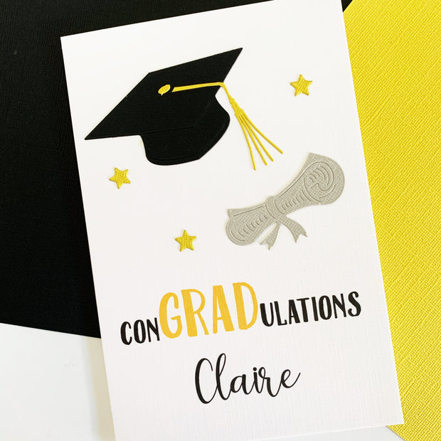 Graduation Card Personalised For Her