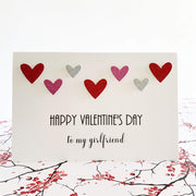 Happy Valentines Day Girlfriend Card