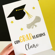 Card - Personalised ConGRADulations