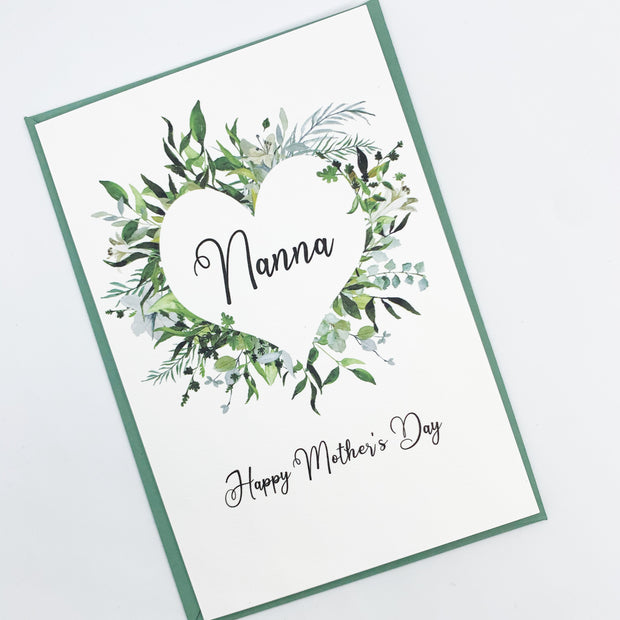 Grandmother Mothers Day Card