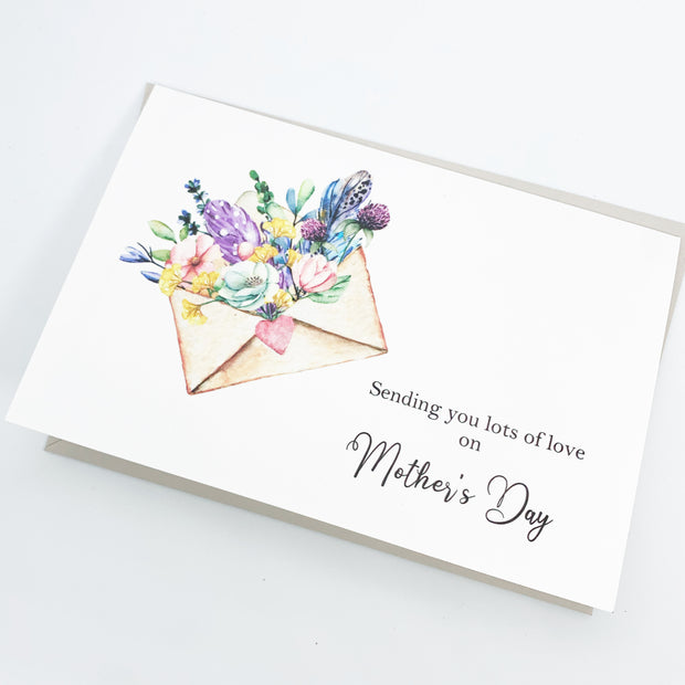 Card - Sending Lots of Love on Mothers Day