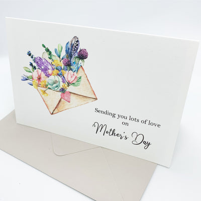 buy mothers day card online - sending love on mothers day - the paper angel - www,thepaperangel.com.au