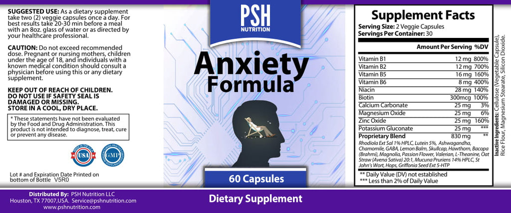 Anti Anxiety Support Supplements that Combat Stress