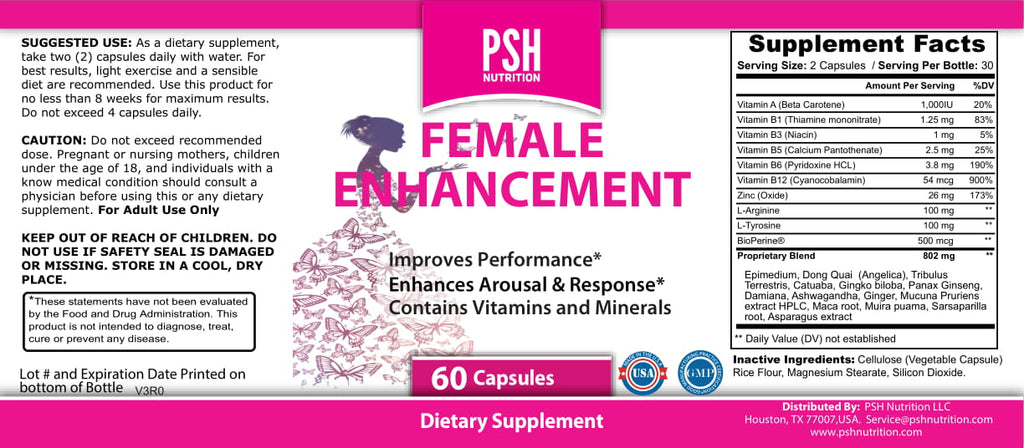 Female Sensitivity Enhancement
