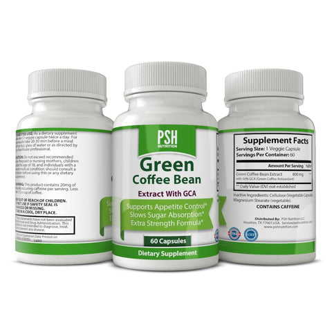 PSH Green Coffee Bean with GCA