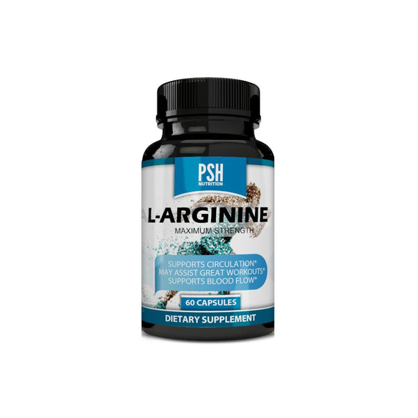 L-Arginine No Blast Natural Amino Acid Maximum Strength