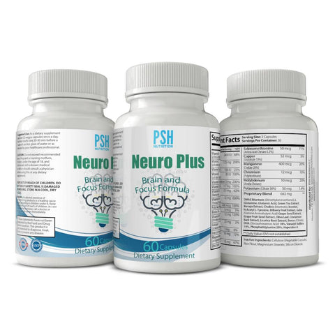 PSH Neuro Plus Brain and Focus