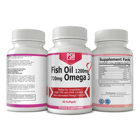 PSH Omega 3 Fish Oil