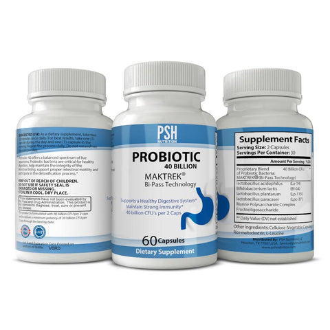 PSH Probiotic 40 Billion CFU