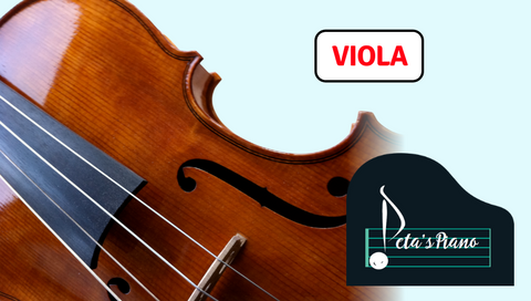 FREE Viola Accompaniments (Peta's Piano)