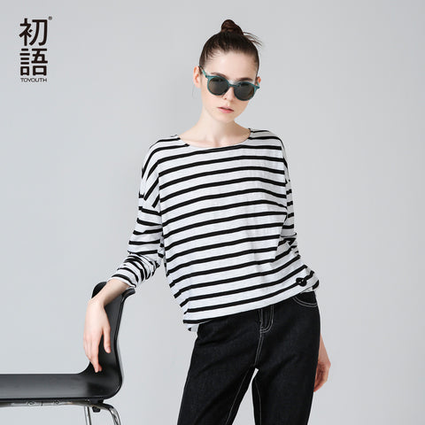 Women Striped T-Shirt