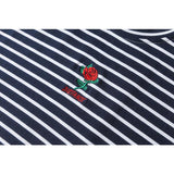 SALE: Rose Embroidery Tee