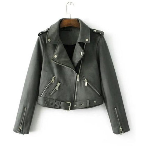 Fashion Women Suede jacket