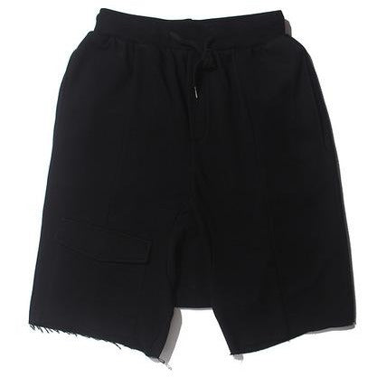 Loose Cotton Street Shorts