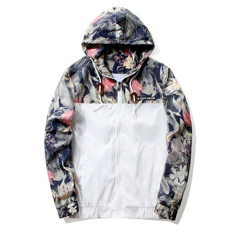 Limited Edition Floral Windbreaker