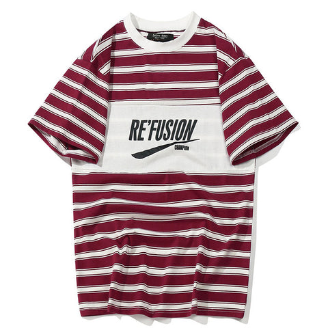 Re'Fusion Stripe Tee