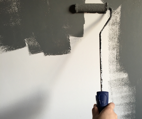 Applying primer is like painting an undercoat on the walls