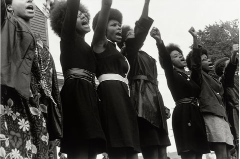 Women of the Black Panther Black Civil Rights Group