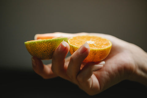 Citrus fruits are a great source of vitamin C, which benefits skin care