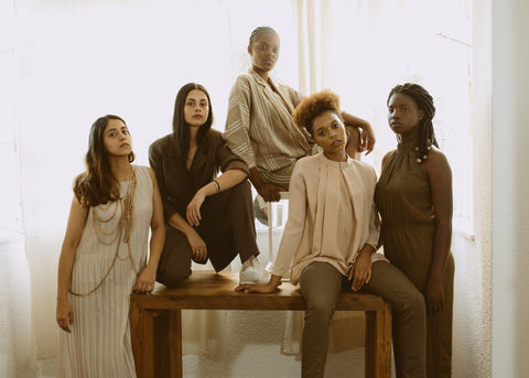 A diverse group of women reclaiming beauty