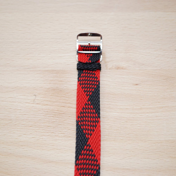 Red & Black Weave Perlon