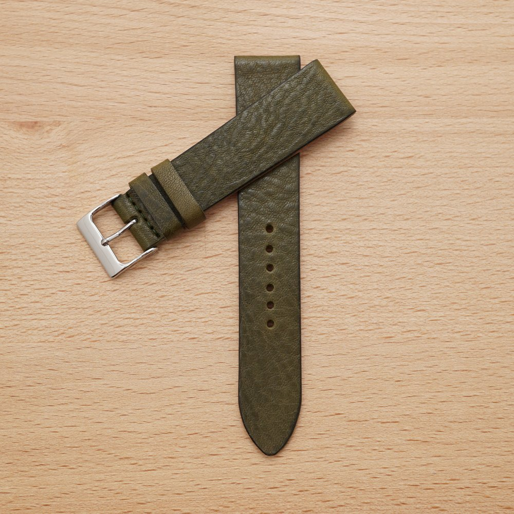 Green Leather Strap