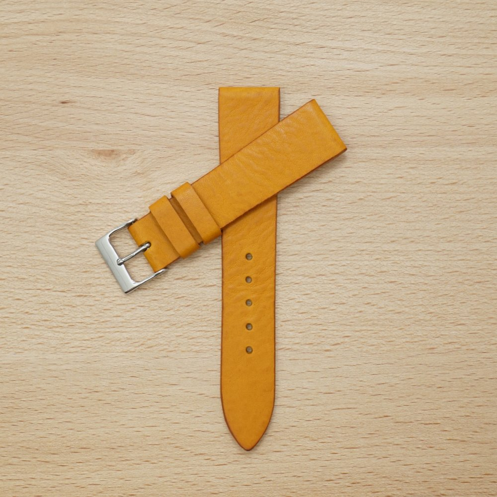 Yellow Leather Strap
