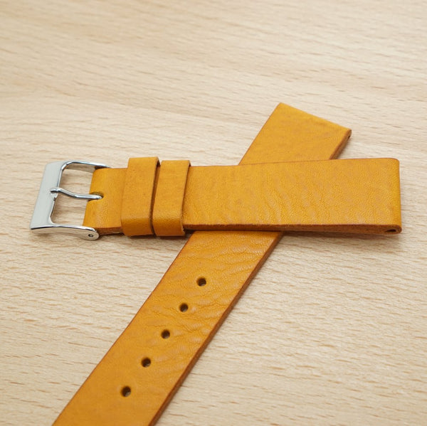 Mustard Leather Strap