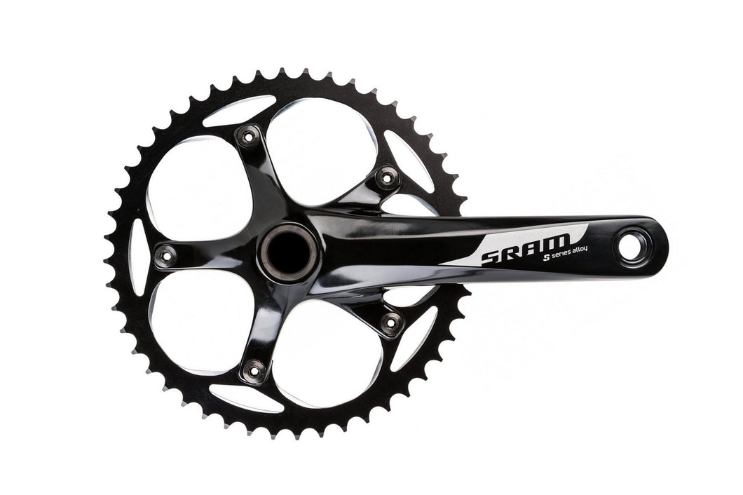 SRAM S300 165mm 48T Black Crankset and Bottom Bracket