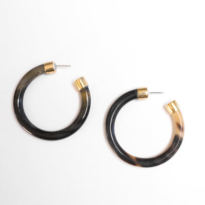 Capped Horn Hoop Dark