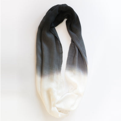 Dark Ash Dip dyed Snood