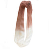Tobacco Dip dyed Snood