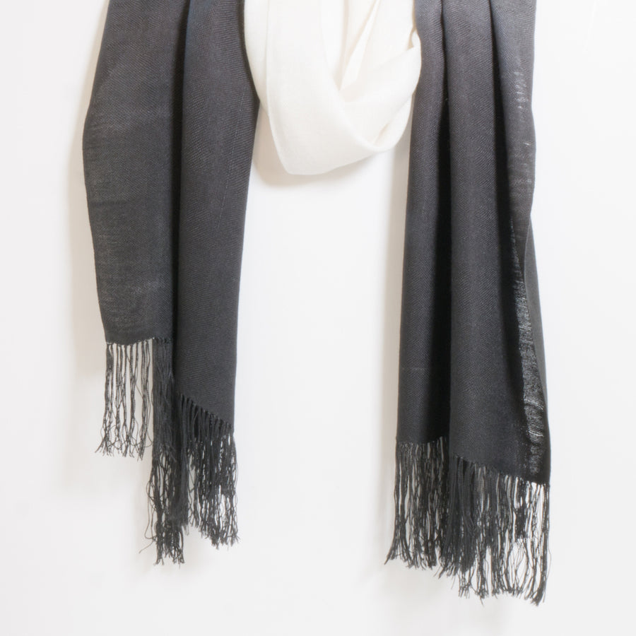 Fine Bamboo Dip Dyed Scarves