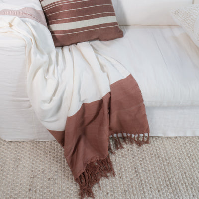 Moroccan Bamboo Throws