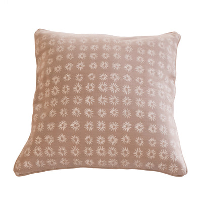 Mali Star Cushion Covers Linen on Dove Background