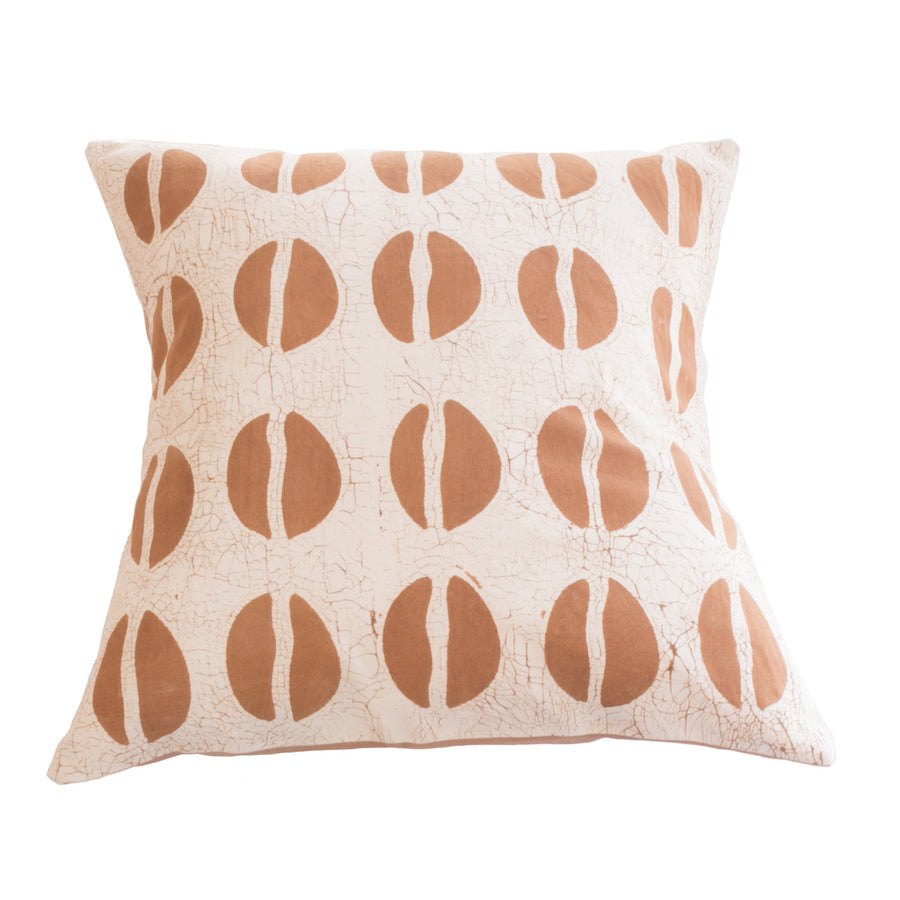 Hoof Print Tribal Cushion Cover in Black and White