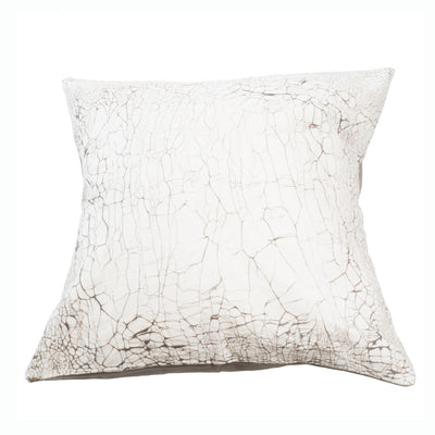Raw Hide textured cushion covers