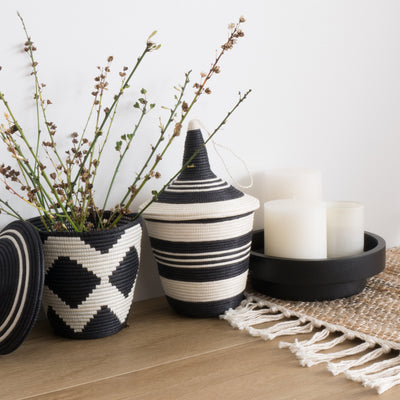 Sisal Peace Baskets