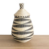 Rwandan Peace Basket - Tear Drop Shape