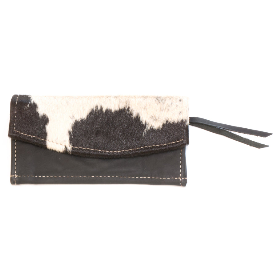 Cowhide Ticket Wallets