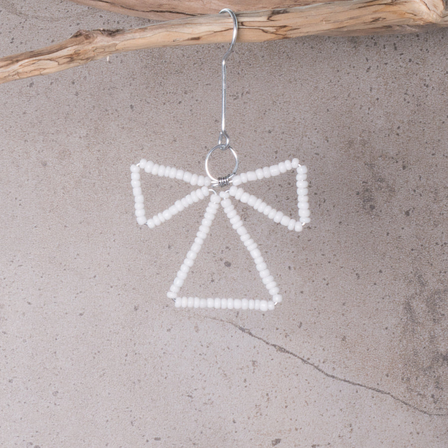 Angel Beaded Christmas Decoration