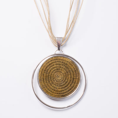 Ginger Eclipse Statement Necklace
