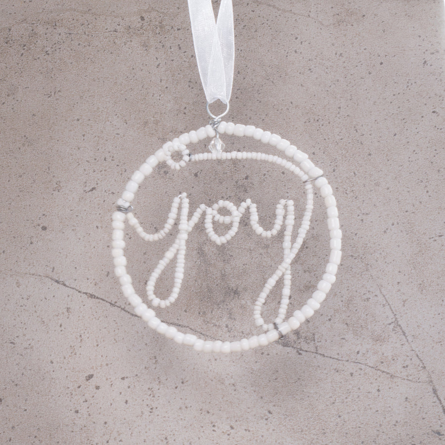 Joy Christmas Decoration