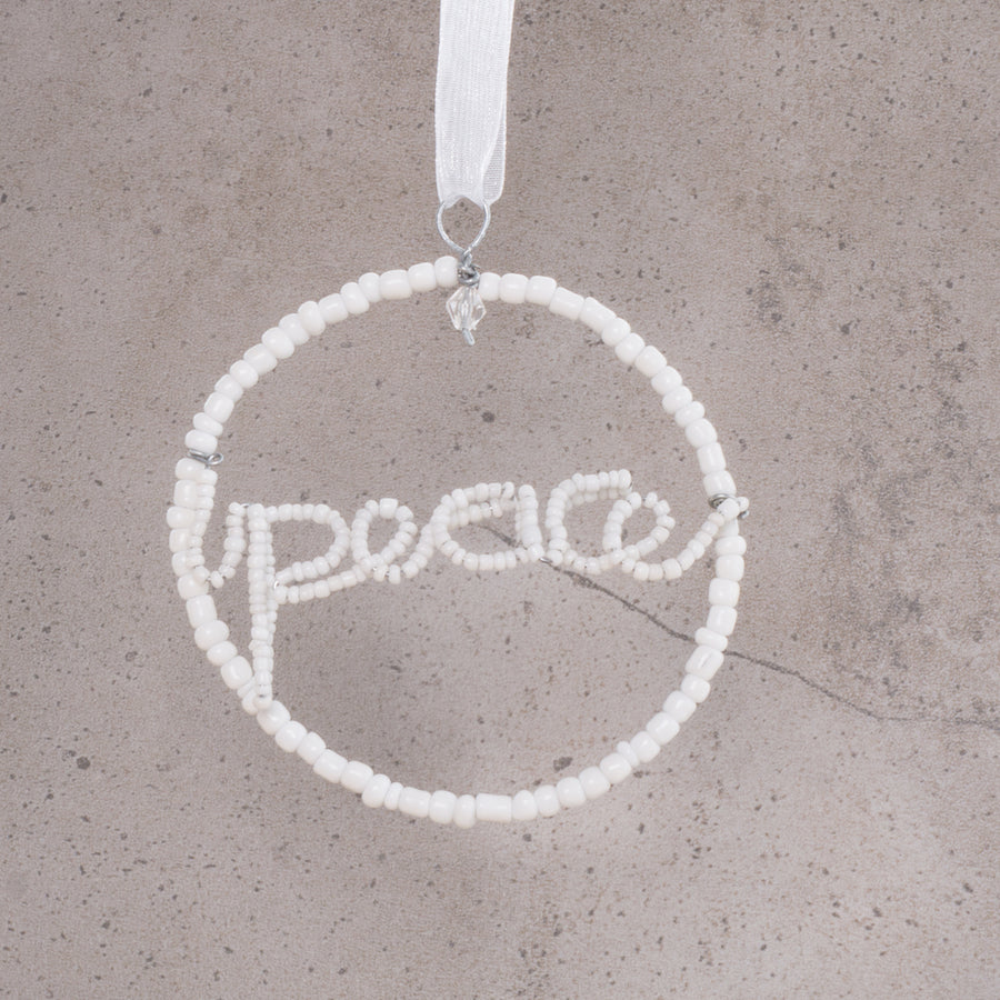 Peace Christmas Decoration