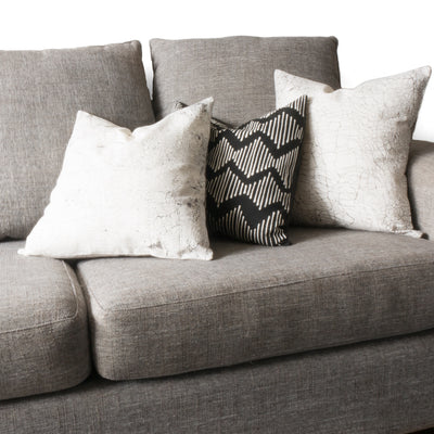 Rawhide and Zigzag cushions styled