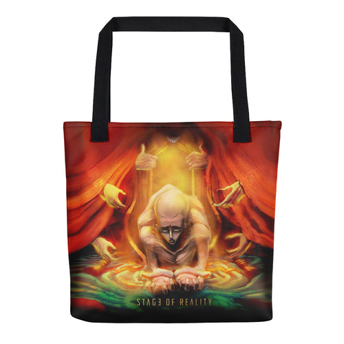 Stage of Reality Tote bag