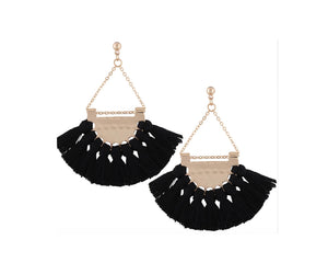 THE HAVANA TASSEL - BLACK