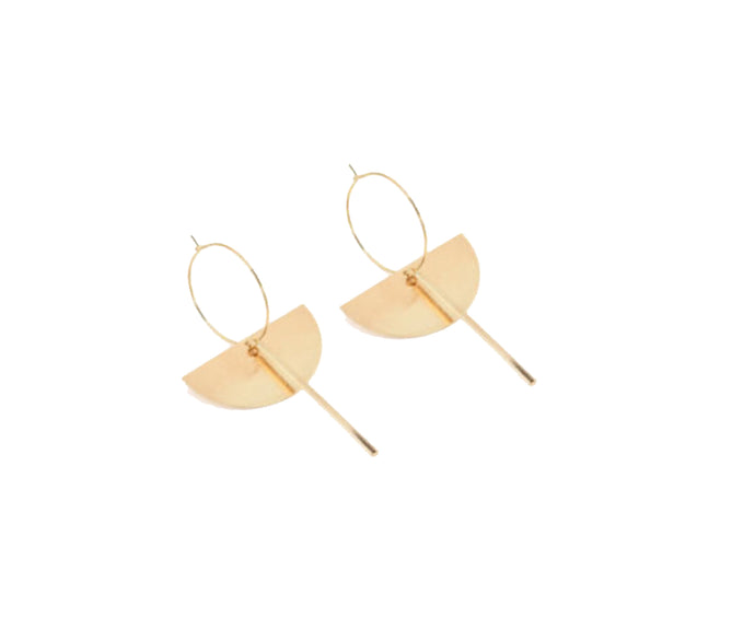 THE HARLOW EARRINGS - GOLD